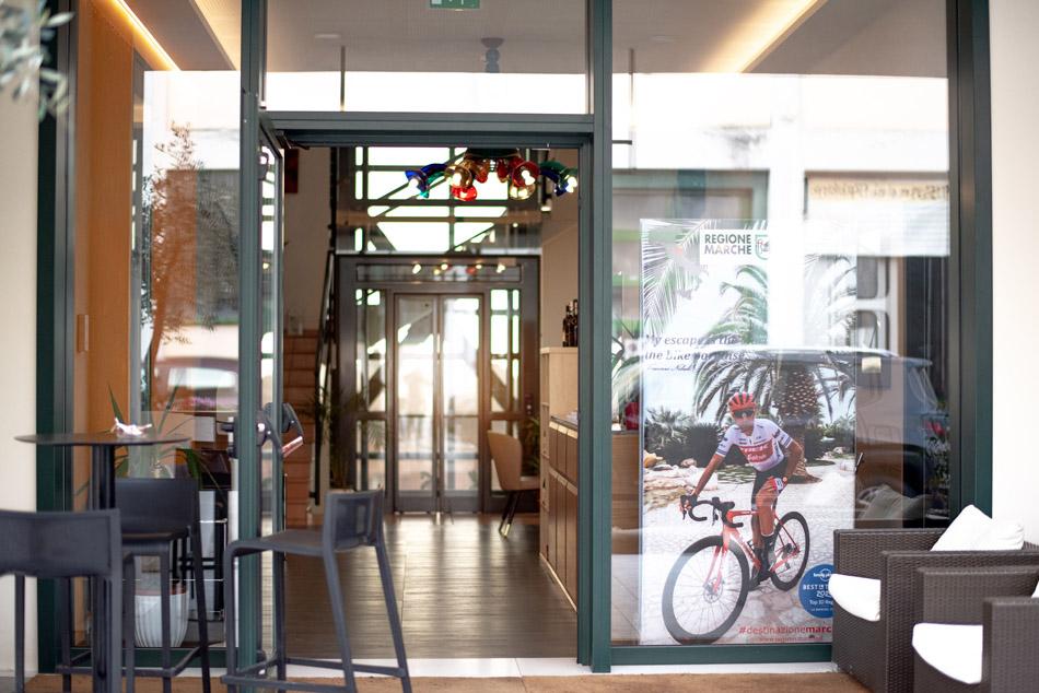 Ingresso Hotel Tonino Recanati